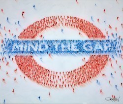 Mind the Gap V by Craig Alan -  sized 38x32 inches. Available from Whitewall Galleries